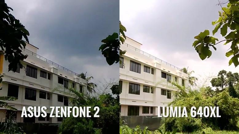 مقایسه دوربین ASUS Zenfone ۲ vs Lumia ۶۴۰XL