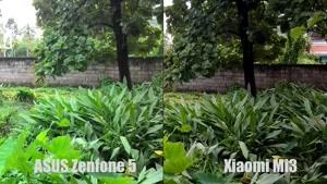 مقایسه دوربین Xiaomi Mi۳ vs ASUS Zenfone ۵
