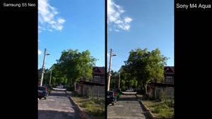 مقایسه دوربین Samsung S۵ Neo vs Sony M۴