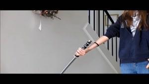 نحوه دوران دادن شمشیر از جلو
