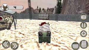 انیمیشن آموزش رانندگی با کامیون نظامی