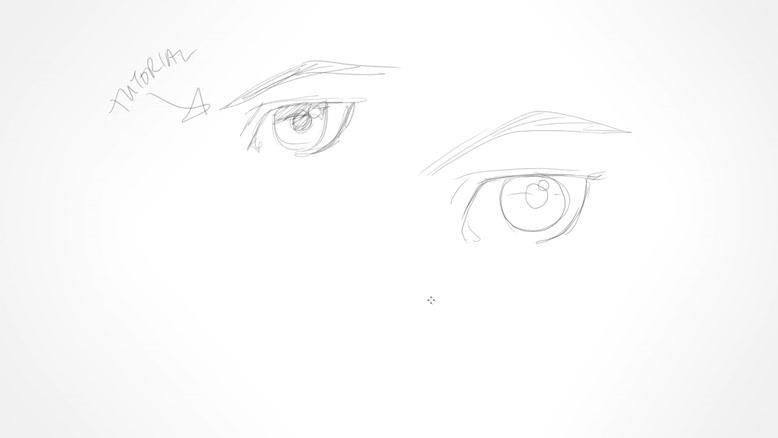آموزش نقاشی چشم