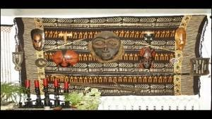 دکوراسیون منزل به سبک آفریقایی