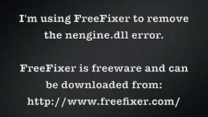 نحوه حذف خطا ی فایل NEngine.dll
