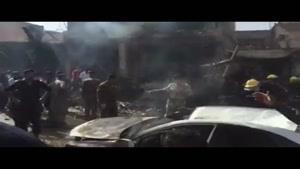 فیلم/انفجار تروریستی در شهر «کربلاء»