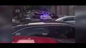 فرار خلافکاران پس از درگیری مسلحانه با پلیس