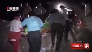 سقوط مرگبار اتوبوس سربازان در فارس با ۱۹ کشته