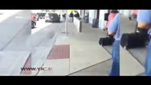 تیراندازی در فرودگاه به خاطر مزاحمت خانوادگی