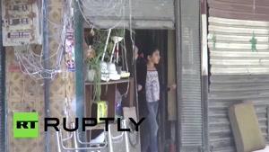 فیلم / حمله خمپارهای «جبهه النصره» به حلب