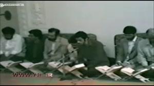 تلاوت استاد شهریار پرهیزکار در حضور رهبر انقلاب