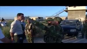 فیلم/بشار اسد به خطوط مقدم جبهه های جنگ با تروریستها رفت