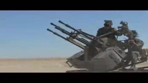 فیلم/عملیات ارتش سوریه ضد داعش در حومه غربی الرقه
