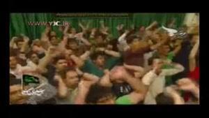 مداحی محمود کریمی با لعن بر اسرائیل