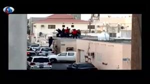 فیلم/بازداشت رئیس مرکز حقوق بشر بحرین توسط آلخلیفه