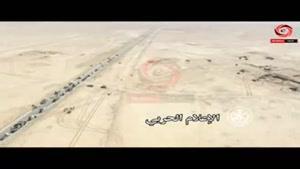 فیلم/پیشروی ارتش سوریه در جنوب شهر الطبقه