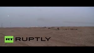 فیلم/نبرد سنگین سوری ها با داعش در اطراف الرقه