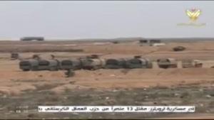 فیلم/ کنترل ارتش سوریه بر دو راهی استراتژیک «الرصافه»