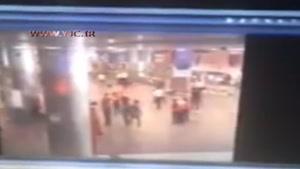 فیلم دیده نشده از لحظه انفجار در فرودگاه آتاتورک استانبول