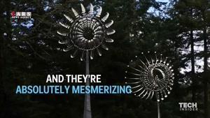تصاویر دیدنی از مجسمههای متحرک