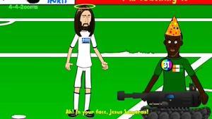 انیمیشن پنالتی ساحل عاج و یونان