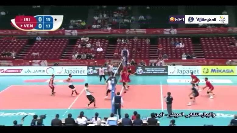 خلاصه والیبال ایران 3-2 ونزوئلا