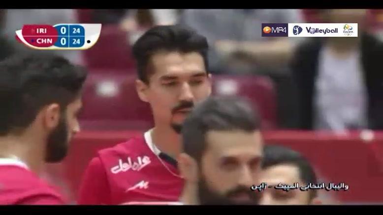 ایران 3-2 چین (انتخابی المپیک)