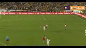 کلمبیا ۲-۱ پاراگوئه