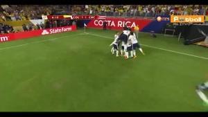 کلمبیا ۲-۳ کاستاریکا