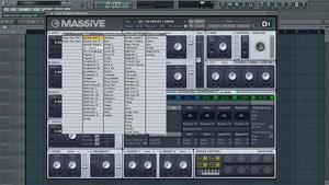 اصول اولیه طراحی صدا با سینتی سایزر در فضای FL STUDIO MASSIV