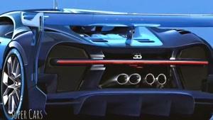 طراحی خودرو بوگاتی گرند توریسمو