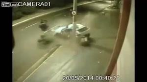 تصادفات خودرو ها در جاده
