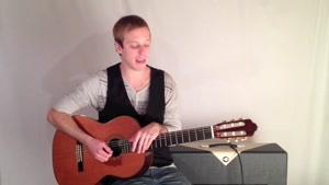 ریتم آهنگ Montuno´ با گیتار