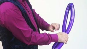 ساخت پروانه کارتونی با بادکنک