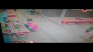 حمله گراز وحشی به رستوران