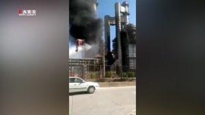 آتشسوزی شدید در پتروشیمی بوعلی