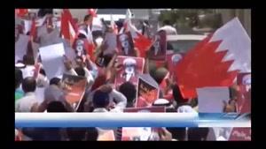 فیلم/تداوم تظاهرات مردم بحرین در همبستگی با «شیخ عیسی قاسم»
