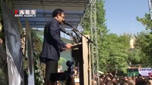 اظهارات اصغر فرهادی در مراسم تشییع کیارستمی