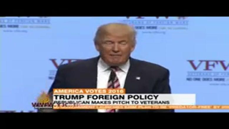 ترامپ، هیلاری کلینتون را دغل خطاب کرد