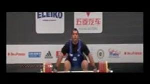 اردوي پولاد مردان وزنه برداري تیم ملی ایران به المپیک