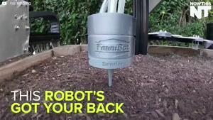 فیلم/ روبات باغبان را ببینید