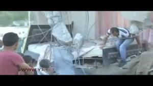 حملهی وحشیانه نظامیان رژیم اشغالگر قدس به خانه های فلسطینیان