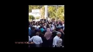 استقبال پرشور مردم شهرستان ملارد از احمدی نژاد