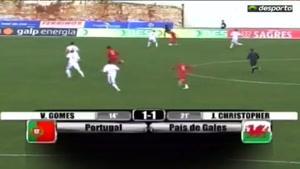 گل و موقعیت های بازی والز و پرتغال