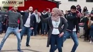 رقص مردم مظلوم فلسطین