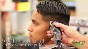 آموزش کوتاه کردن مو سر با دو نمره متفاوت همچنین محو کردن آن و ایجاد طرح مدرن و خاص پشت سر