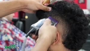 آموزش کوتاهی مدل موهای USHER