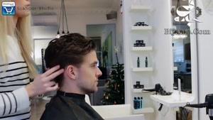 آموزش درست حالت دادن مو سر با حالت دهنده ها وفیکساتور ها