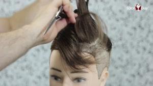 آموزش کوتاهی مدل موهای خاص روی و مدرن روی پستیژ و مانکن