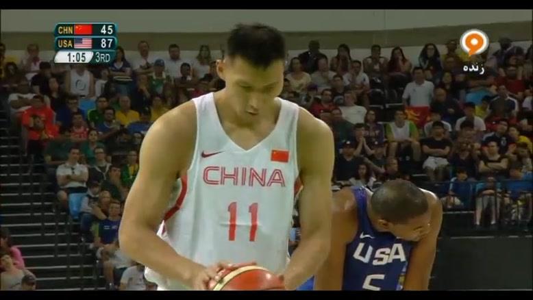 مسابقه بسکتبال آمریکا و چین - المپیک ۲۰۱۶ ریو