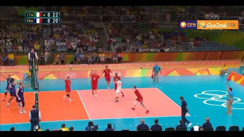 مسابقه والیبال فرانسه و ایتالیا - المپیک ریو ۲۰۱۶